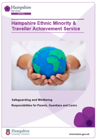 Image of front cover of Safeguarding & Wellbeing booklet